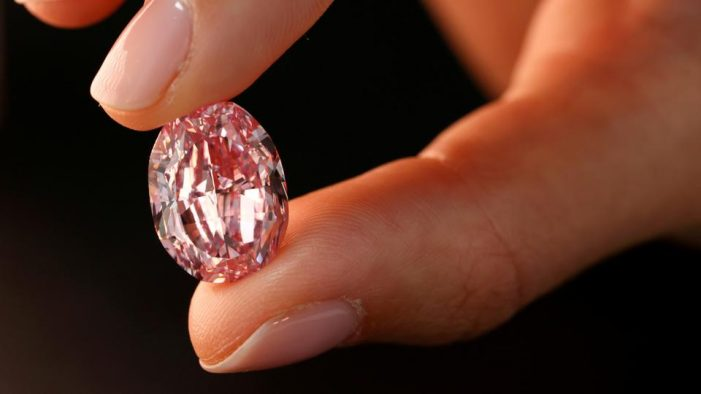 Pink Diamond Hammers for $26.6-M at Sotheby's Geneva Sale