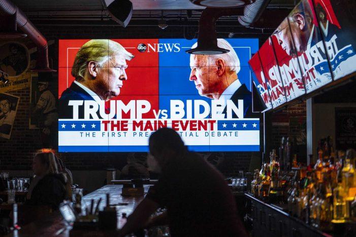 Donald Trump = Law & Order, Joe Biden = Corruption & Chaos